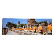 Panoramic Ayutthaya Thailand Photographic Print on Canvas