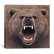 """Bear 2"" Canvas Wall Art by Harro Maass"