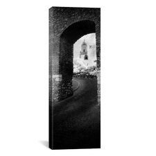 Panoramic Church Viewed Through an Archway, Puerta Del Sol, Medina Sidonia, Cadiz, Andalusia, Spain Photographic Print on Canvas