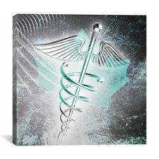 Canadian Health Care Graphic Art on Canvas