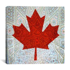 Canadian Flag, Maple Leaf #5 Graphic Art on Canvas