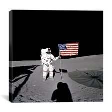 Apollo 14 Shepard Canvas Wall Art