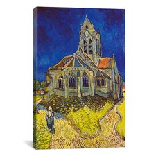 'Church at Auvers' by Vincent van Gogh Painting Print on Canvas