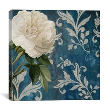 """Anastasia (White Flower)"" Canvas Wall Art by Color Bakery"