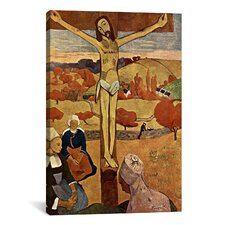 'Yellow Christ (Jesus)' by Paul Gauguin Painting Print on Canvas