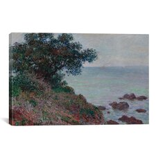 'Bords de la Mediterranee Temps Gris 1888' by Claude Monet Painting Print on Canvas