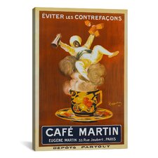 'Cafe Martin' (Vintage Art) by Leonetto Cappiello Vintage Advertisement on Canvas