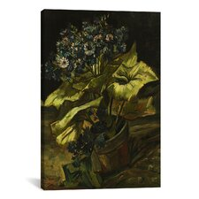 'Cineraria in a Flowerpot' by Vincent van Gogh Painting Print on Canvas