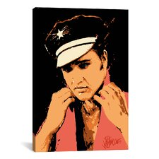 C.C. Rider (Elvis Presley) Graphic Art on Canvas