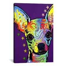 'Chihuahua ll' by Dean Russo Graphic Art on Canvas