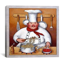 """Chef 4"" Canvas Wall Art by John Zaccheo"