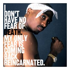 2Pac Tupac Shakur Quote Canvas Wall Art