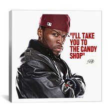 50 Cent Quote Canvas Wall Art