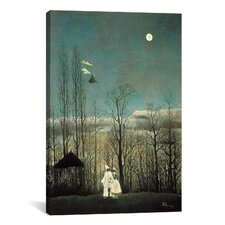 'A Carnival Evening 1886' by Henri Rousseau Painting Print on Canvas