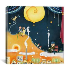 """Castard Moon"" Canvas Wall Art by Youchan"