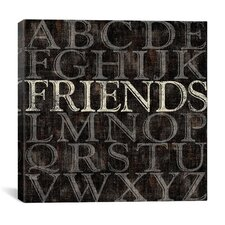 Alphabet II from Sparx Studio Collection Canvas Wall Art