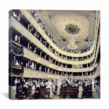 """Zuschauerraum Im Alten Burgtheater (The Old Burgtheater)"" Canvas Wall Art by Gustav Klimt"