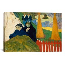 'Arlesiennes (Mistral), 1888' by Paul Gauguin Painting Print on Canvas