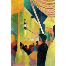 'Acrobat' by August Macke Painting Print on Canvas