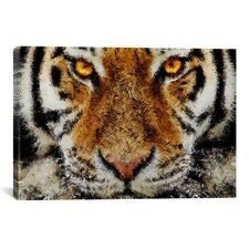 Animal Art - Tiger by Maximilian San Graphic Art on Canvas