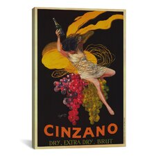 Asti Cinzano by Leonetto Cappiello Vintage Advertisement on Canvas