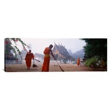 Panoramic Vat Xieng Thong, Luang Prabang, Laos Photographic Print on Canvas