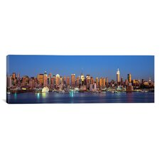 Panoramic New York City New York State Photographic Print on Canvas