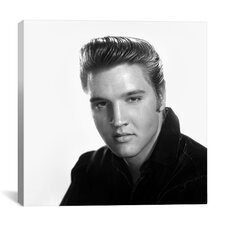 1950's Publicity Shot (Elvis Presley) Canvas Wall Art
