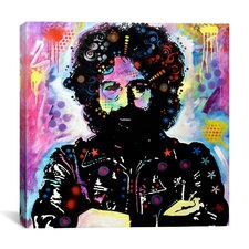 """""""Jerry Garcia"""" Canvas Wall Art by Dean Russo"""