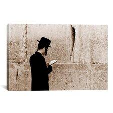 Jerusalem Wall Photographic Print on Canvas