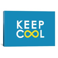 'Keep Cool' by Budi Satria Kwan Textual Art on Canvas