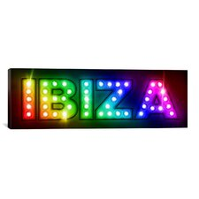 'Ibiza' by Michael Thompsett Graphic Art on Canvas