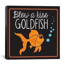 """Goldfish"" Canvas Wall Art by Erin Clark"