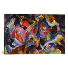 'Flood Improvisation' by Wassily Kandinsky Painting Print on Canvas