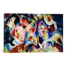 'Flood Improvisation' by Wassily Kandinsky Painting Print on Canvas