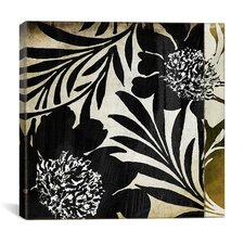 Floral Jungle Lines I Canvas Wall Art