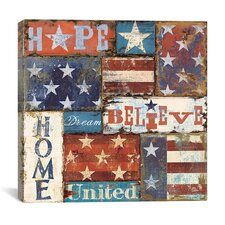 Hope, Dream, and Believe from NBL Studio Canvas Wall Art