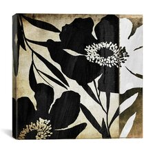 Floral Jungle Lines II Canvas Wall Art