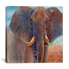 """Giant Elephant"" Canvas Wall Art by Cory Carlson"