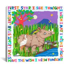 """First Star I See Tonight"" Canvas Wall Art by Cheryl Piperberg"