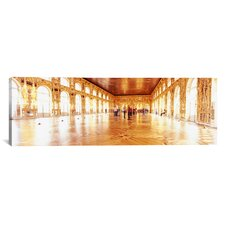 Panoramic Catherine Palace Ballroom, St. Petersburg, Russia Photographic Print on Canvas