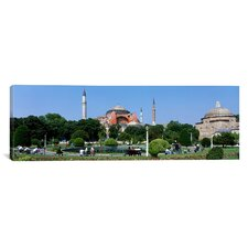 Panoramic Hagia Sophia, Istanbul, Turkey Photographic Print on Canvas