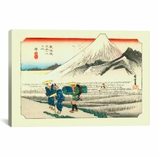 'Hara'  by Utagawa Hiroshige Painting Print on Canvas