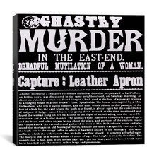 Ghastly Murder in the East-End Canvas Wall Art