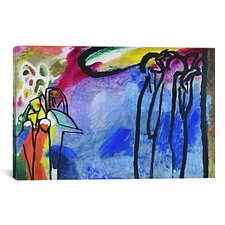 'Improvisation 19' by Wassily Kandinsky Painting Print on Canvas