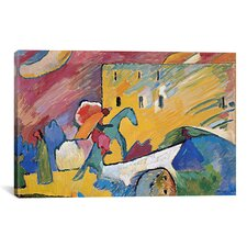 'Improvisation 3' by Wassily Kandinsky Painting Print on Canvas