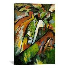 'Improvisation 7' by Wassily Kandinsky Painting Print on Canvas