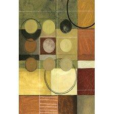 Decorative Art Color Colage II by Pablo Esteban Painting Print on Canvas