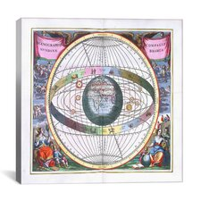 """Harmonia Macrocosmica"" Canvas Wall Art by Andreas Cellarius"