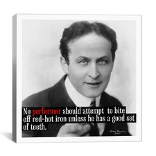 Harry Houdini Quote Canvas Wall Art
